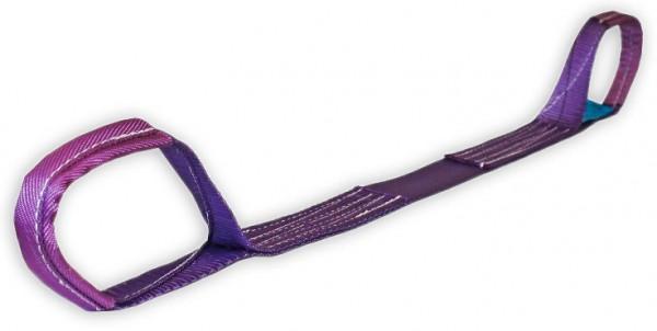 Hebeband mit Schlaufen, violett